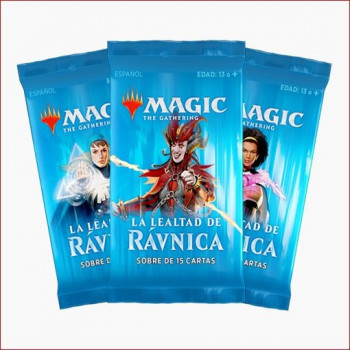 MAGIC - SOBRE 15 CARTAS LA LEALTAD DE RAVNICA