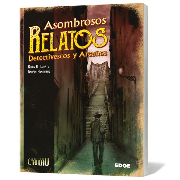 ASOMBROSOS RELATOS DETECTIVESCOS Y ARCANOS - EL RASTRO DE CTHULHU