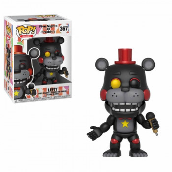 FUNKO POP! 367 LEFTY. FIVE NIGHTS AT FREDDY'S PIZZERIA SIMULATOR