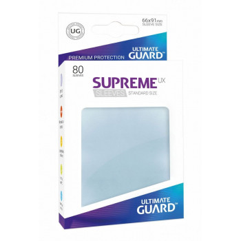 FUNDAS TRANSPARENTES MATE 66x91 mm (80 uds.) ULTIMATE GUARD SUPREME UX