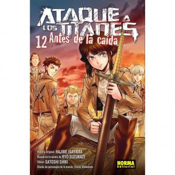 ATAQUE A LOS TITANES - ANTES DE LA CAIDA 12