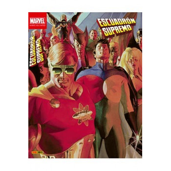 80' S LIMITED ESCUADRON SUPREMO DE MARK GRUENWALD (MARVEL LIMITED EDITION)