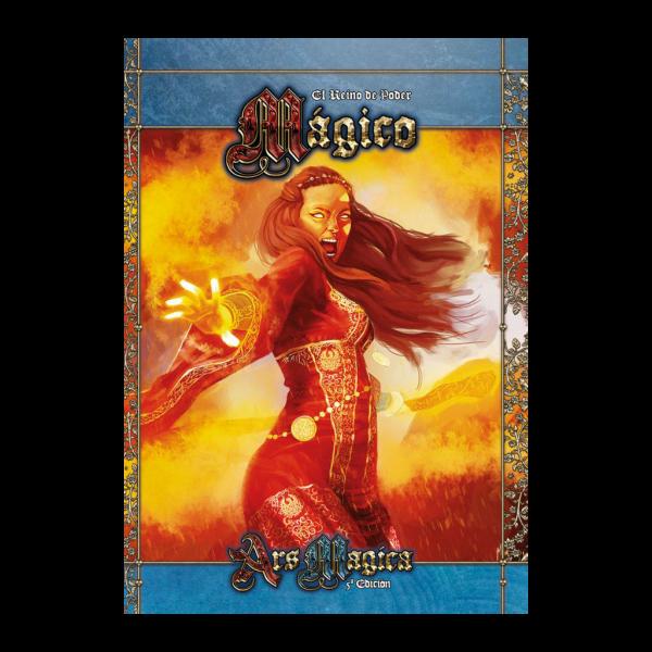 ARS MAGICA 5ª EDICION: EL REINO DE PODER MAGICO