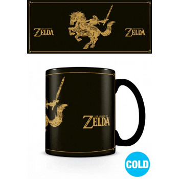 TAZA SENSITIVA AL CALOR MAPA. THE LEGEND OF ZELDA