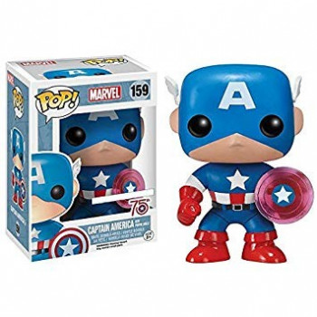 FUNKO POP! 159 CAPTAIN AMERICA WITH PHOTON SHIELD. MARVEL
