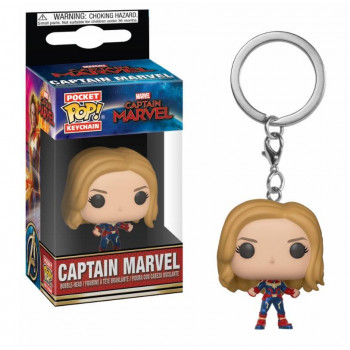 FUNKO POCKET POP! LLAVERO CAPTAIN MARVEL. CAPITANA MARVEL