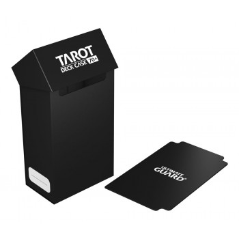 ULTIMATE GUARD TAROT DECK CASE 70+ CAJA DE CARTAS TAMAÑO TAROT NEGRO. ULTIMATE GUARD