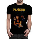 CAMISETA TALLA XL. POSTER CLASICO. PULP FICTION