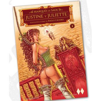 MARQUES DE SADE - JUSTINE Y JULIETTE 02 + POSTAL