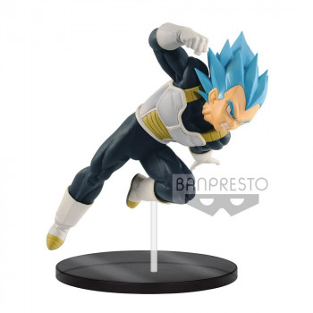 FIGURA VETA SUPER SAIYAN GOD ULTIMATE SOLDIERS 18 cm. DRAGON BALL SUPER