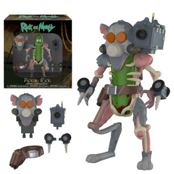 FIGURA PICKLE RICK (RICKINILLO) 13cm. RICK Y MORTY