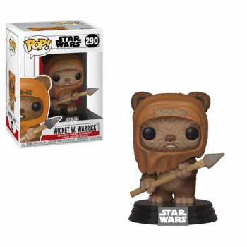 FUNKO POP! 290 WICKET W. WARRICK. STAR WARS
