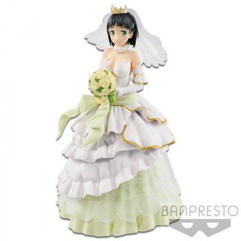 FIGURA WEDDING SUGUHA EXQ 23cm. SWORD ART ONLINE CODE REGISTER