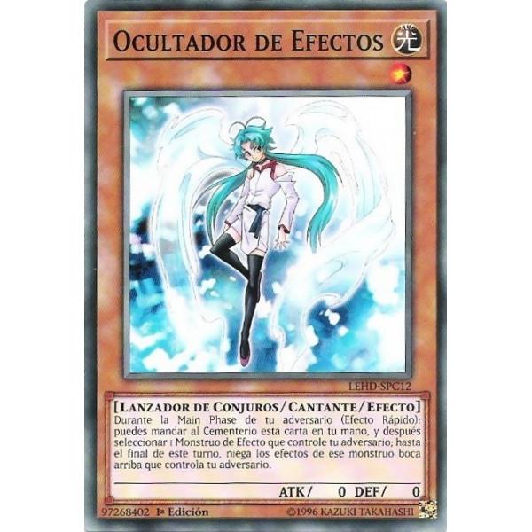CARTA OCULTADOR DE EFECTOS - YU-GI-OH (PROMO)