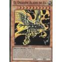 CARTA EL DRAGON ALADO DE RA - YU-GI-OH (PROMO)