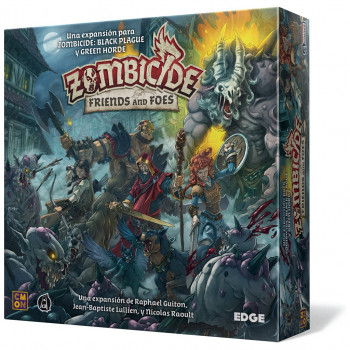 ZOMBICIDE FRIENDS AND FOES. UNA EXPANSION PARA ZOMBICIDE: BLACK PLAGUE Y GREEN HORDE