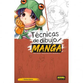 TECNICAS DE DIBUJO MANGA 01
