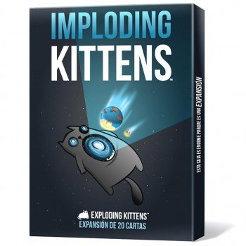 IMPLODING KITTENS (EXPANSION EXPLODING KITTENS)