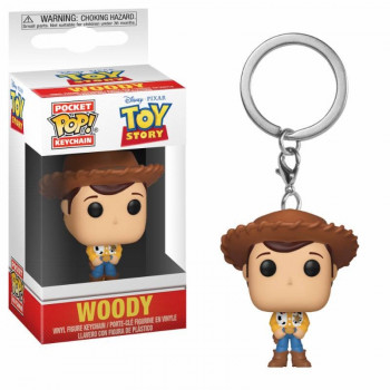 FUNKO POCKET POP! LLAVERO WOODY. TOY STORY