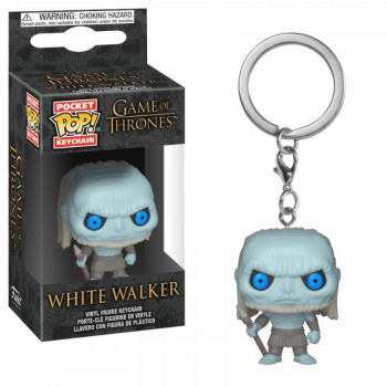 FUNKO POCKET POP! LLAVERO WHITE WALKER (CAMINANTE BLANCO). JUEGO DE TRONOS
