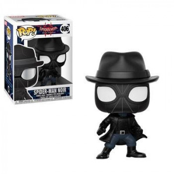FUNKO POP! 406 SPIDER-MAN NOIR. SPIDERMAN INTO THE SPIDERVERSE