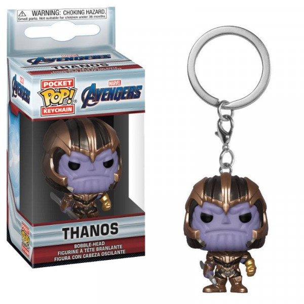 FUNKO POCKET POP! LLAVERO THANOS. VENGADORES ENDGAME