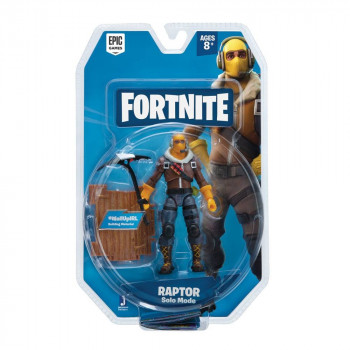 FIGURA RAPTOR SOLO MODE 10 cm. FORTNITE