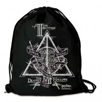 BOLSO DE TELA. THE THREE BROTHERS. HARRY POTTER
