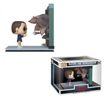 FUNKO POP! SERIE MOMENTS 727 ELEVEN AND DEMOGORGON. STRANGER THINGS