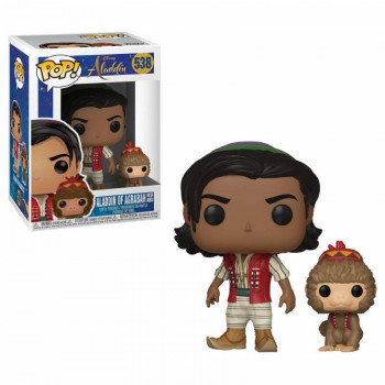 FUNKO POP! 538 ALADDIN OF AGRABAH WITH APU. ALADDIN DISNEY