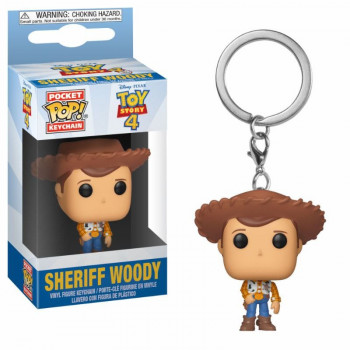 FUNKO POCKET POP! LLAVERO SHERIFF WOODY. TOY STORY 4