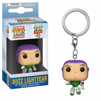 FUNKO POCKET POP! LLAVERO BUZZ LIGHTYEAR. TOY STORY 4