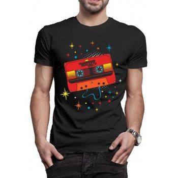 CAMISETA TALLA M. CINTA COLOREADA. GUARDIANES DE LA GALAXIA VOL.2