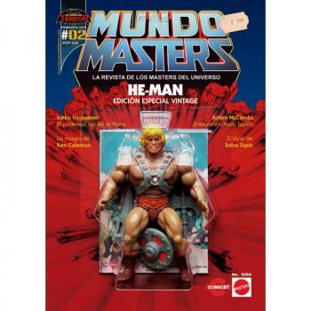 MUNDO MASTERS 02 LA REVISTA DE LOS MASTERS DEL UNIVERSO