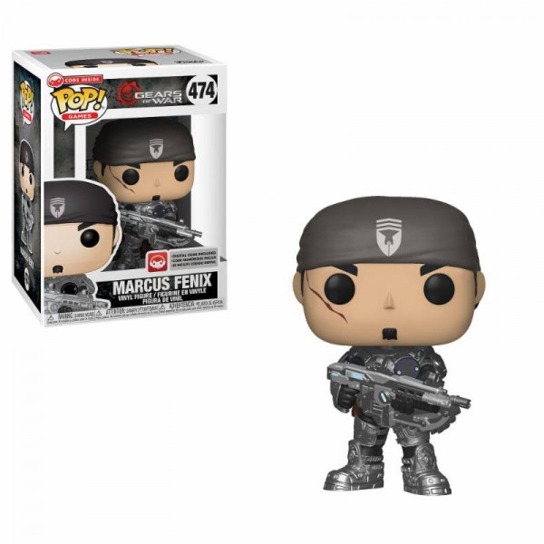 FUNKO POP! 474 MARCUS FENIX. GEARS OF WAR