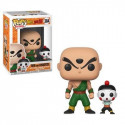 FUNKO POP! 384 TIEN AND CHIAOTZU (TEN SIN HAN & CHAOS). DRAGON BALL Z