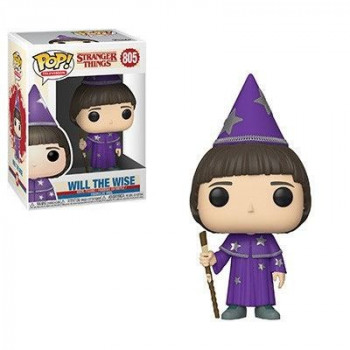 FUNKO POP! 805 WILL THE WISE. STRANGER THINGS