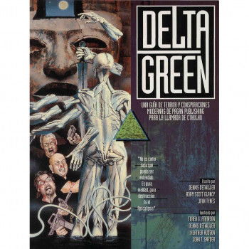 PACK DELTA GREEN - JUEGO DE ROL, 2 MANUALES