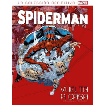LA COLECCION DEFINITIVA DE SPIDERMAN 35  VUELTA A CASA