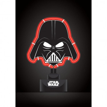 LAMPARA NEON DARTH VADER 27x18,5 cm. STAR WARS