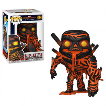 FUNKO POP! 474 MOLTEN MAN. SPIDERMAN FAR FROM HOME