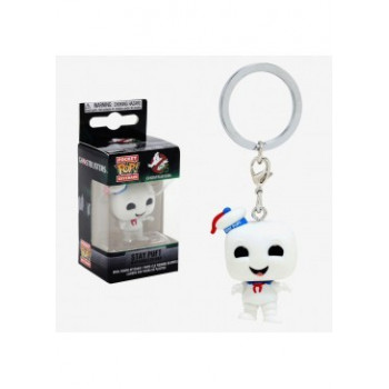 FUNKO POCKET POP! LLAVERO STAY PUFT. LOS CAZAFANTASMAS