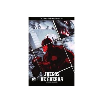 BATMAN, LA LEYENDA 16: JUEGOS DE GUERRA (PARTE 3)