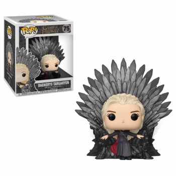 FUNKO POP! 75 DAENERYS TARGARYEN ON IRON THRONE. JUEGO DE TRONOS