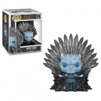 FUNKO POP! 74 NIGHT KING ON IRON THRONE. JUEGO DE TRONOS