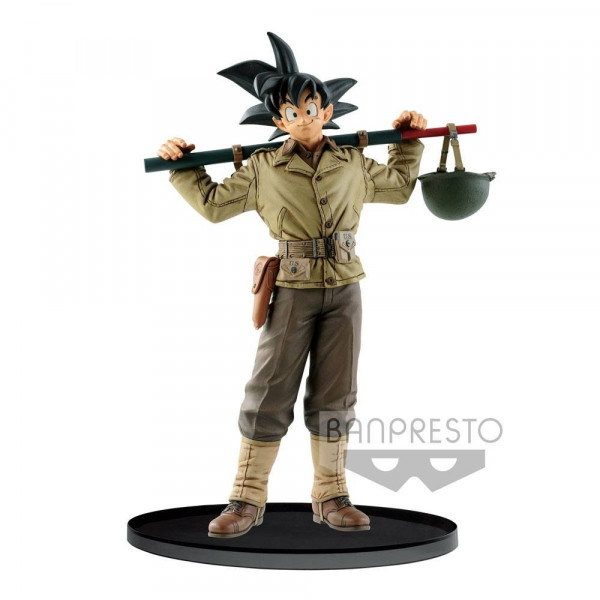 ESTATUA SON GOKU NORMAL COLOR VER. BWFC PVC 18 cm. DRAGON BALL Z