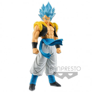 ESTATUA GOJETA SSGSS BLUE GRANDISTA RESOLUTION OF SOLDIERS PVC 27 cm. DRAGON BALL SUPER BROLY
