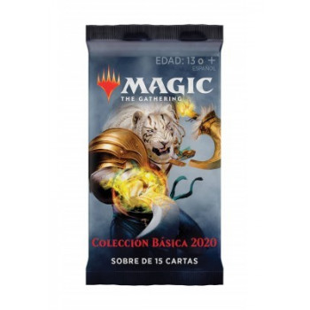 MAGIC - SOBRE 15 CARTAS COLECION BASICA 2020