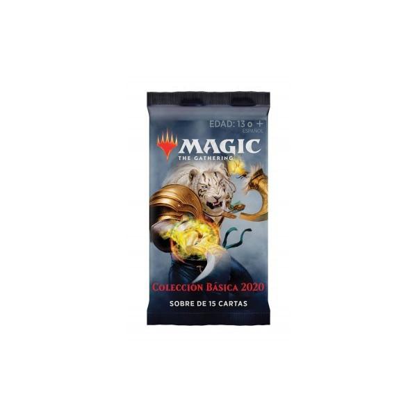 MAGIC - SOBRE 15 CARTAS COLECION BASICA 2020