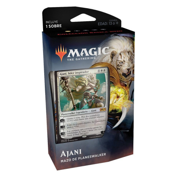 MAGIC - MAZO DE PLANESWAKER AJANI. COLECCION BASICA 2020